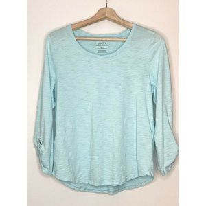 Chico's The Ultimate Tee Basic Knit Mint Green